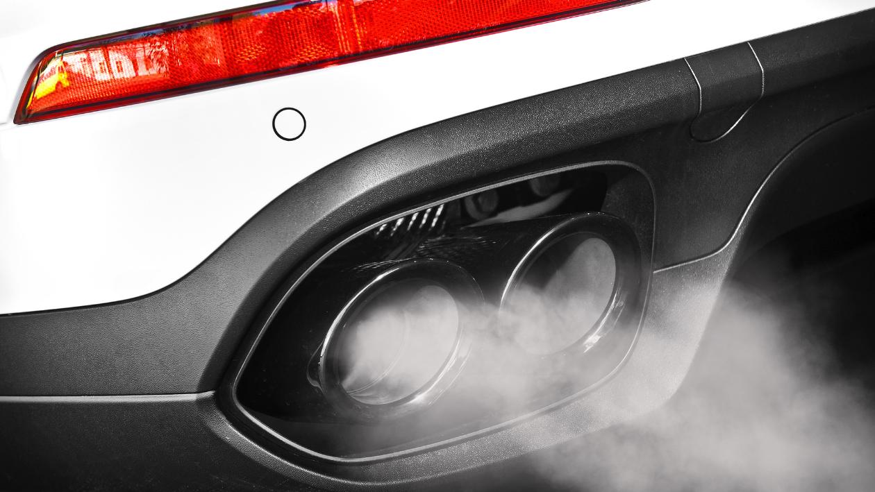 car's exhaust